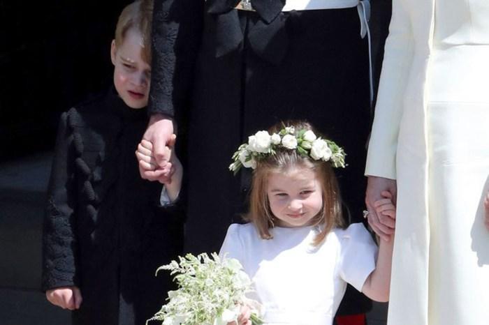 英國《Daily Mail》指喬治小王子婚禮上表現畏縮,惹網民譴責