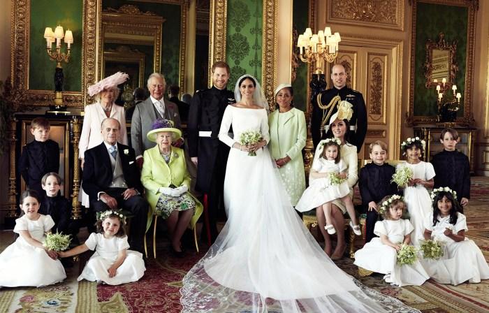 英國皇室發放官方婚照,各人穿搭中隱藏的意思你又看得出來嗎?