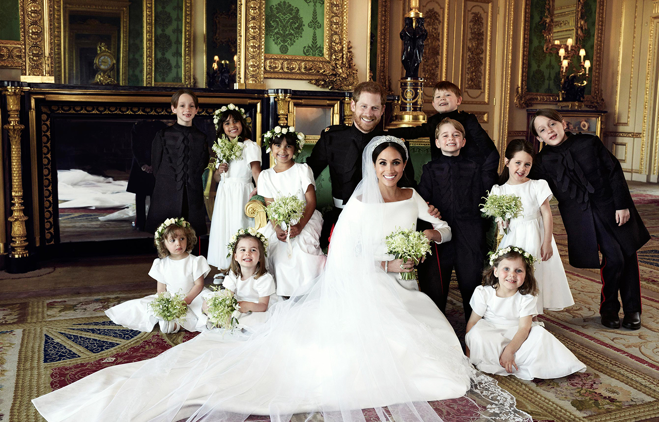 Prince-Harry-and-Meghan-Markle's-official-royal-wedding-portraits hidden meaning