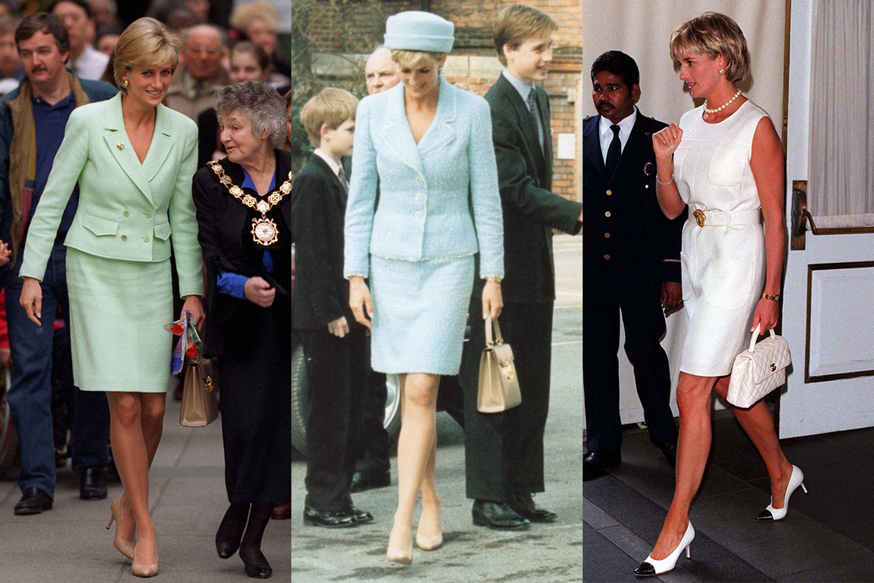 Princess Diana refused to wear Chanel double c logo after divorce