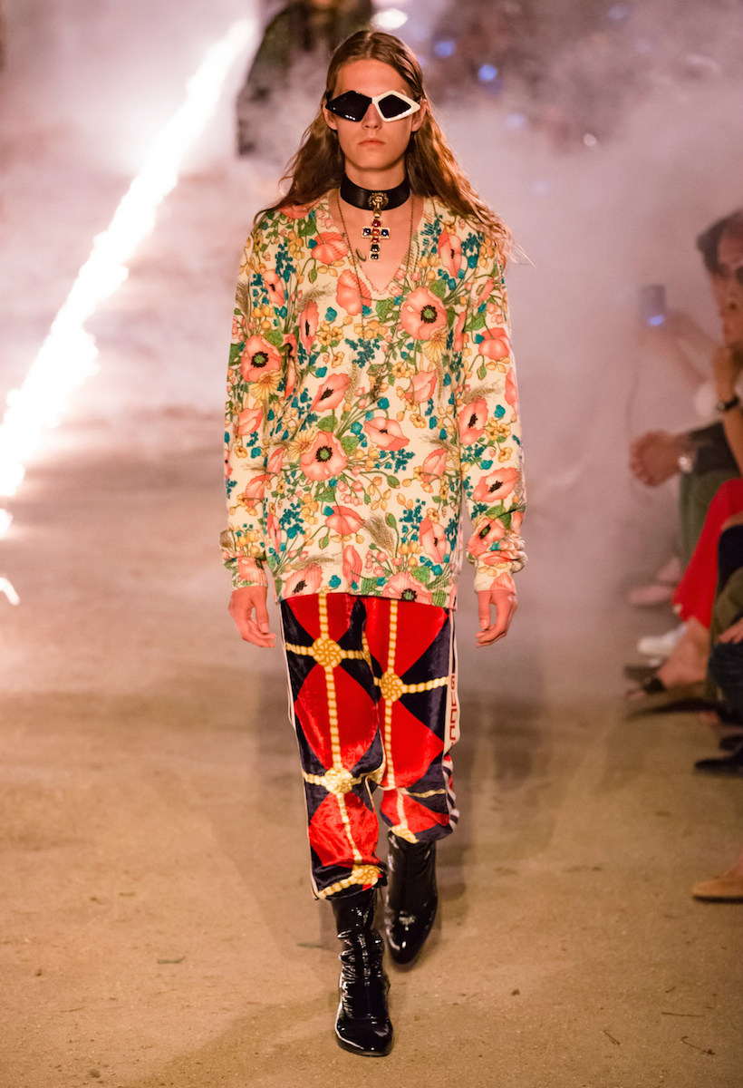 Gucci Resort 2019 Alessandro Michele runway tomb spring show arles