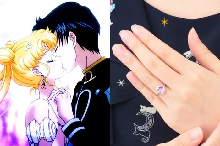 實現兒時美夢-你也能夠擁有「Sailor Moon」的訂婚戒指!