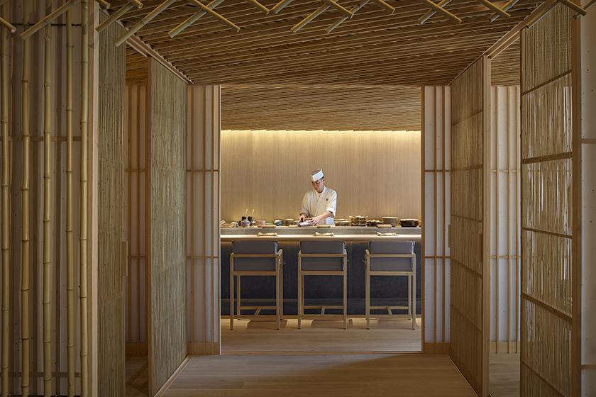 隈研吾首個香港作品-竹日本料理!