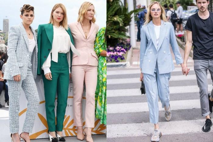 告別黑色:4 位著名女星齊齊以 Pastel 色調,穿出時尚感滿分的西裝套裝!