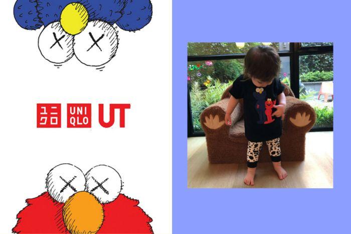 UNIQLO x KAWS 最新聯名「實品照」流出,竟是 Kaws 的女兒露了餡!