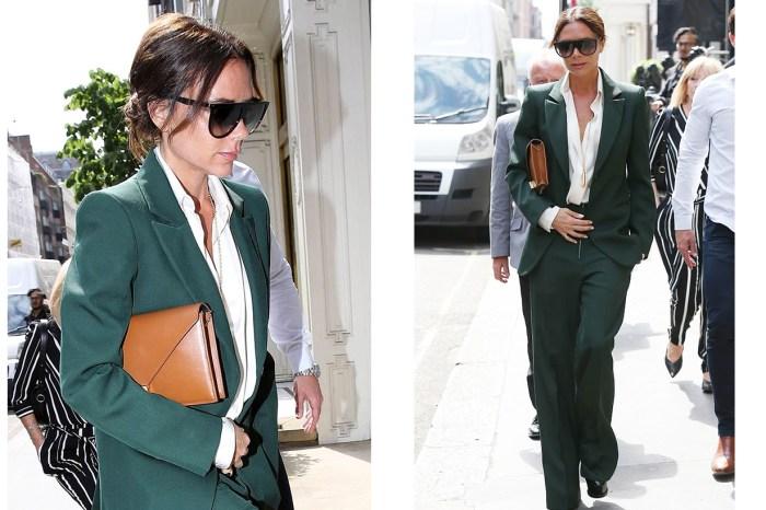 Victoria Beckham 完美示範 Power Suit 穿搭要訣