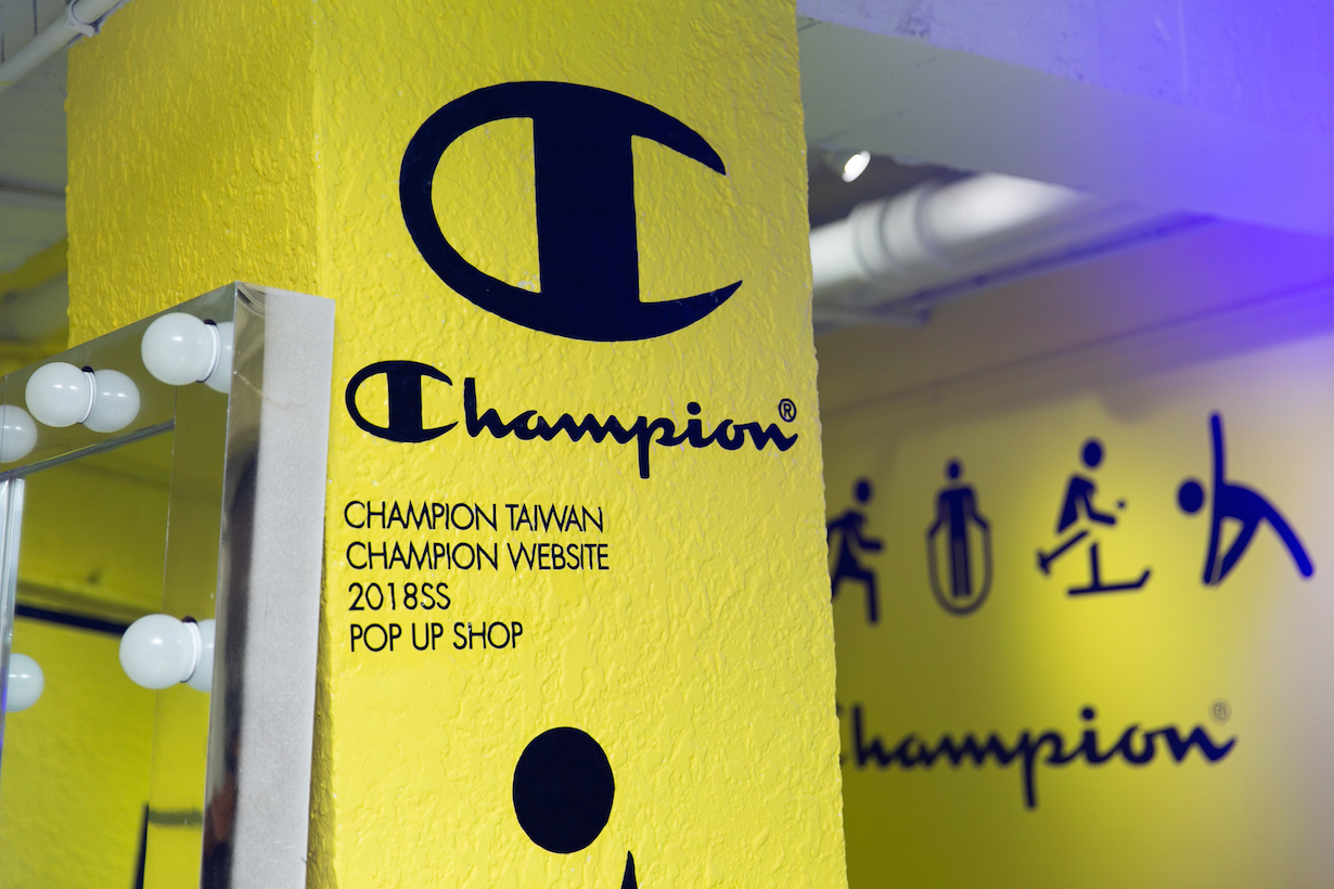 champion CPFU US Line pop up taipei
