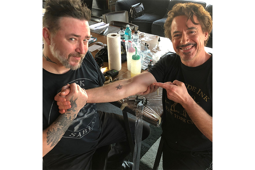 avengers members matching tattoos