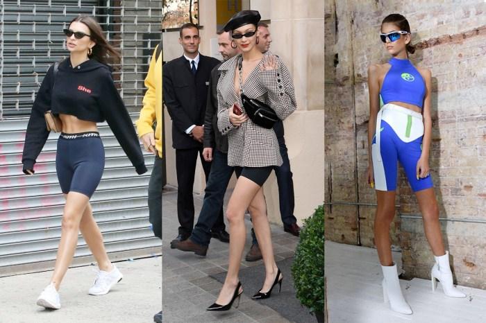 所有女生看了都退避三舍,「Bike Shorts」絕對是今年最逼人的流行!