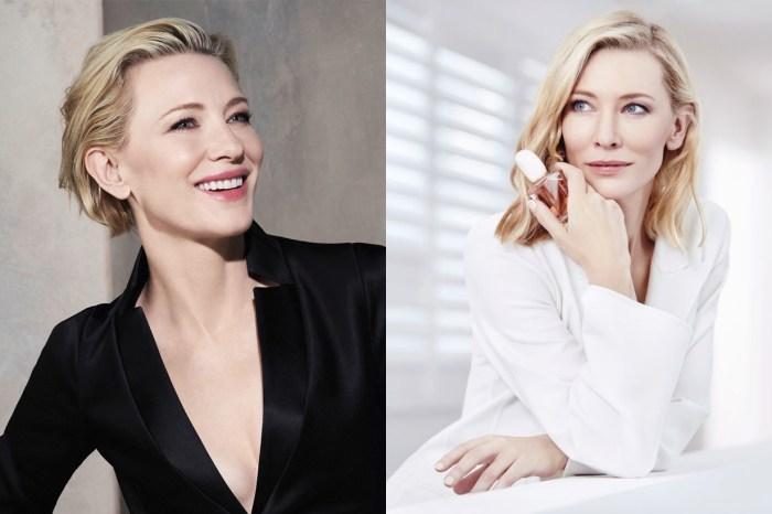 Giorgio Armani Beauty 首位全球代言人是她-49 歲依然優雅的女皇 Cate Blanchett!