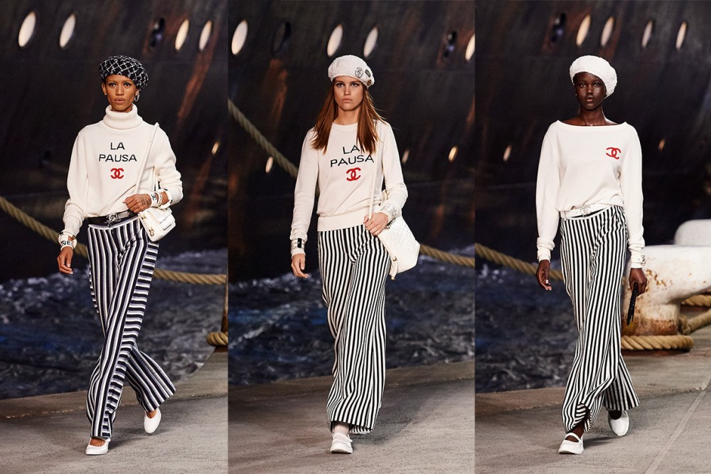 chanel 2019 cruise show BARRIE