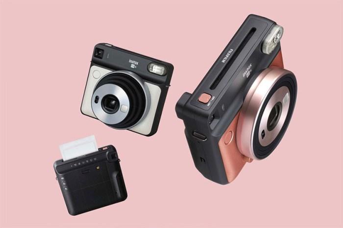 即影即有相機也要潮!Fujifilm 推出的正方形 + 玫瑰金  instax SQUARE SQ10 就是答案