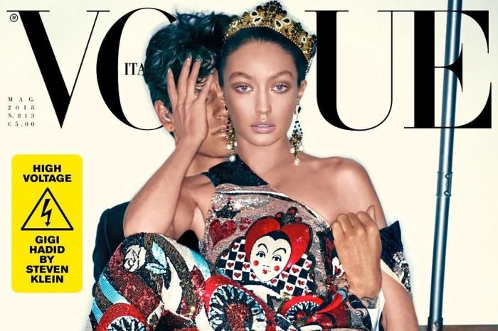 Gigi Hadid 登上《Vogue》義大利版封面,不僅沒人認得還惹上種族歧視風波!