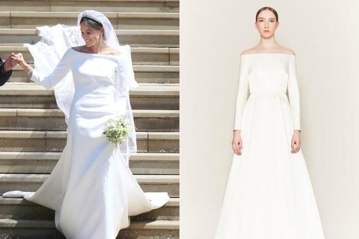 Givenchy 為 Meghan Markle 打造的 20 萬英鎊婚紗,竟然被指抄襲英國設計師作品?