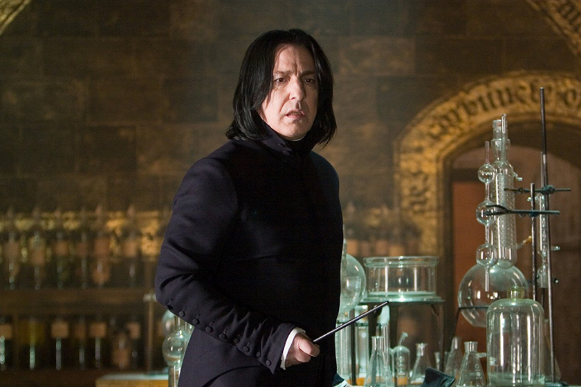 harry potter alan rickmans letters reveal he was frustrated by snape role