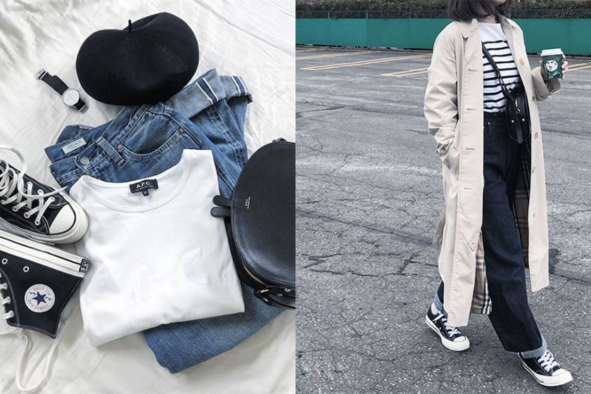 instagram girl to follow minimalist outfit inspiration aaayaaagrams