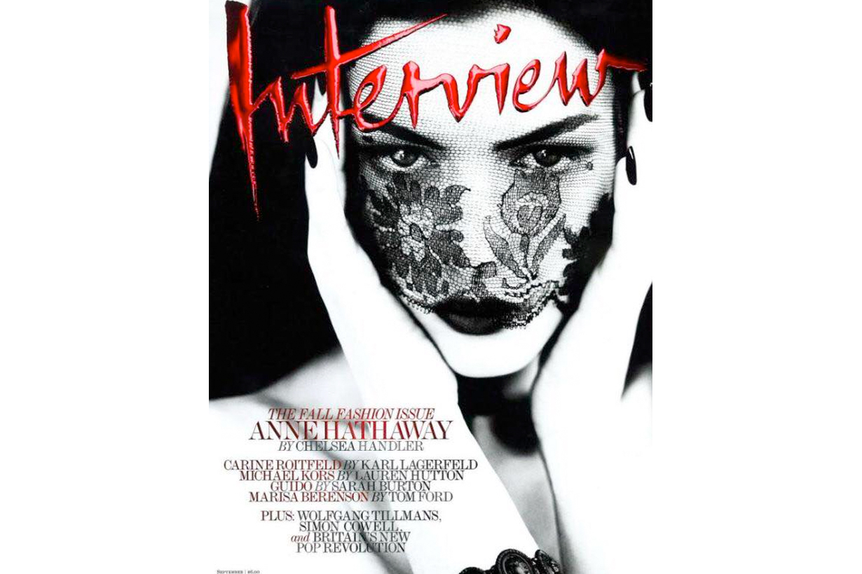 interview magazine folded closes throwback cover star