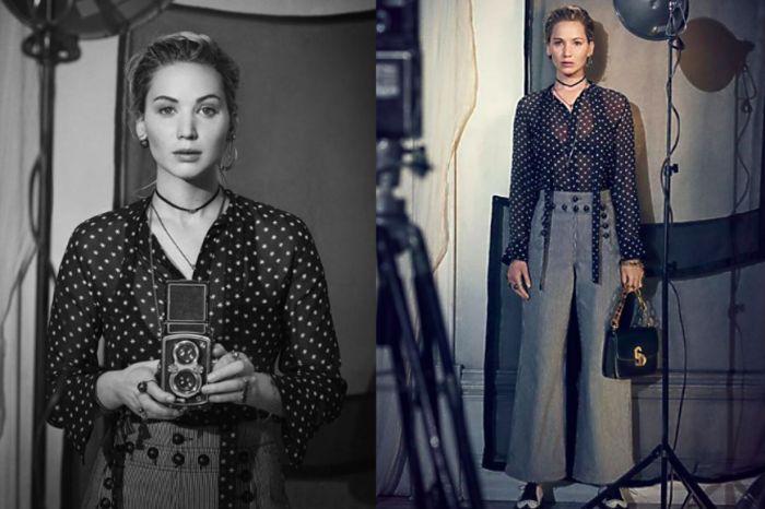 復古與優雅的化身: Jennifer Lawrence 入鏡 Dior 最新廣告形象