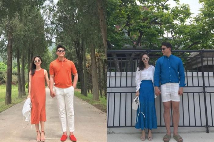 韓式「放閃」穿搭:最用心的 Pantone 系情侶裝搭配