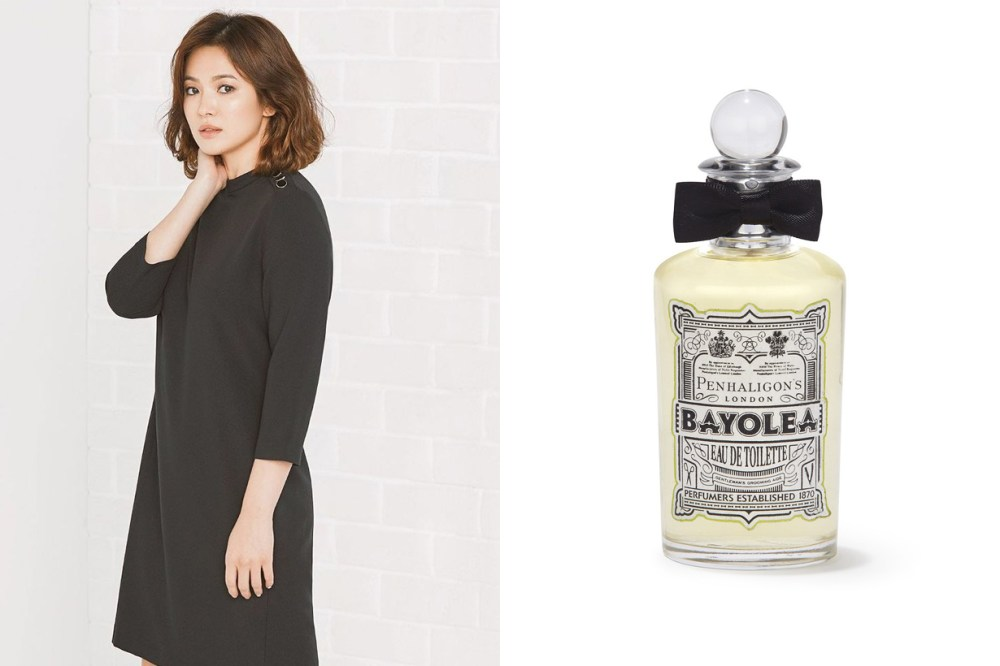 Korean Celebrities Favourite Perfume Song Hye Kyo Penhaligon's Ko Joon Hee Krystal Jo Malone London Yoona Issay Miyake Son Ke Jin Chloe