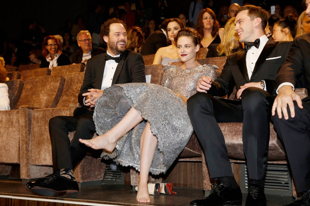 Kristen Stewart Cannes 2018 No Flats Policy red carpet