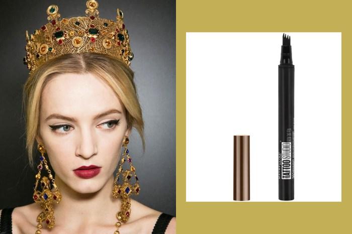飄眉般的自然效果!Maybelline 這支眉毛液可以讓你畫出根根分明的眉毛!