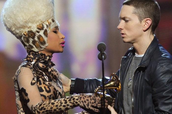 Eminem 跟 Nicki Minaj 約會中,阿姆直接認愛