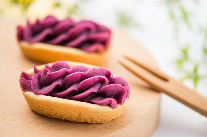 #週末廚房:跟著日本女生製作沖繩名物-「紫薯撻」(紅芋タルト)