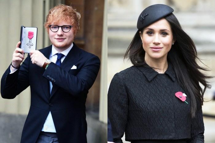 商家為哈里王子的皇室婚禮推出紀念品,但印著的卻是 Meghan Markle 跟 Ed Sheeran……