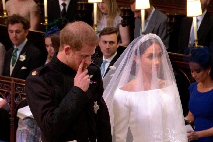 哈利王子婚禮上竟掉下了男兒淚…對 Meghan Markle 說:「I'm so lucky!」