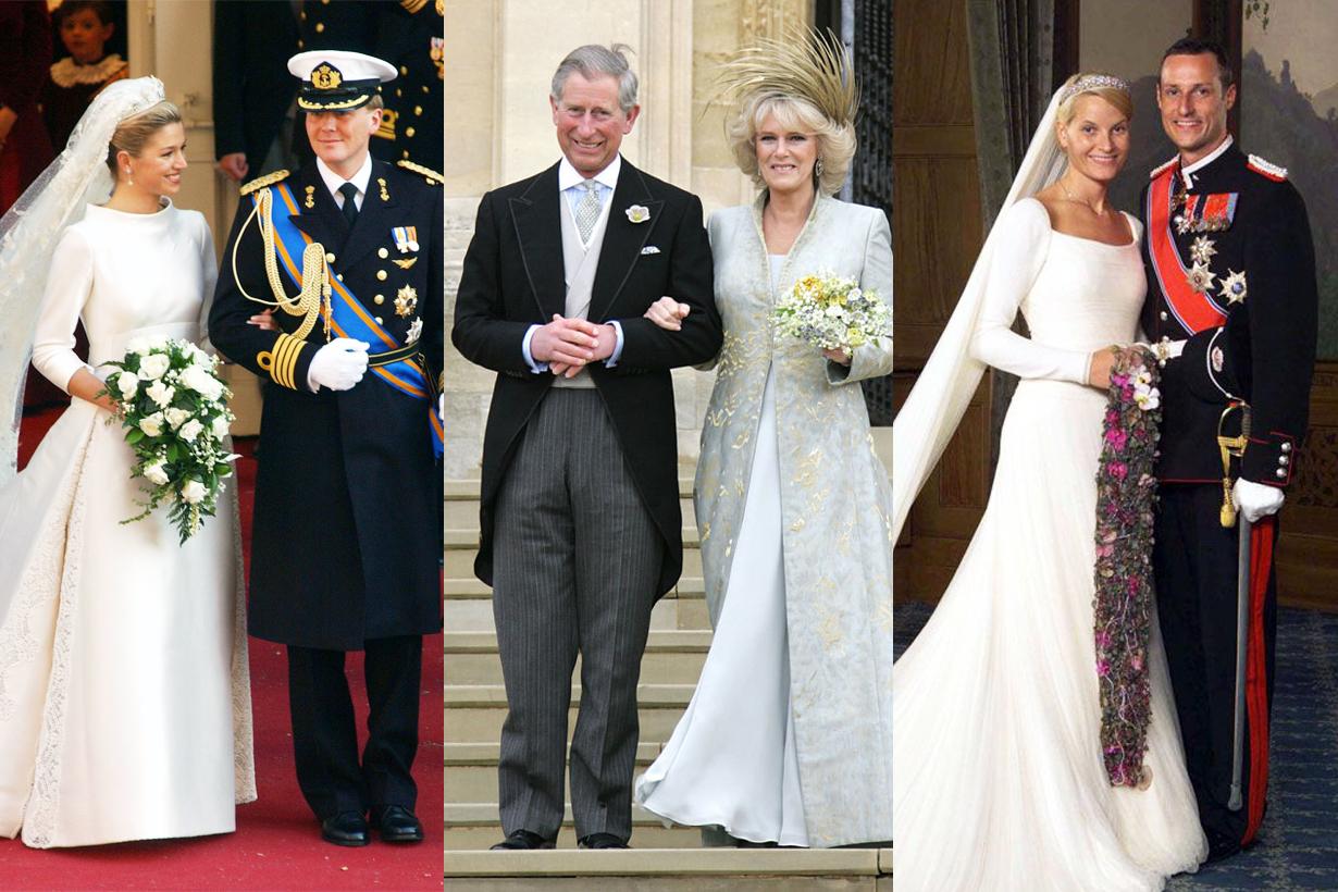 Princess Royal Wedding walk down aisle without father meghan markle thomas markle