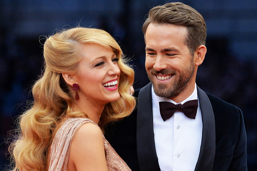 ryan reynolds reaction to being called mr lively is the best thing ever