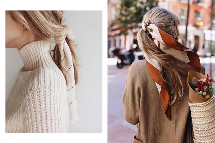 絲巾髮型靈感 20+:佔據整個 Pinterest 的熱潮,任何長度髮型都適合的夏日造型!