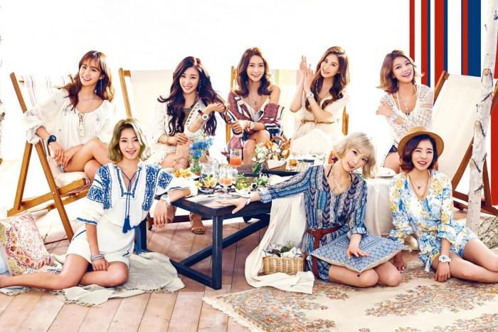 少女時代到法國再合體拍攝團體綜藝!只是成員由 8 人變成 5 人…….