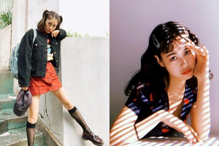看完這位混血模特兒的 IG,保證能給中短髮女生學不完的「日系夏日編髮」靈感!