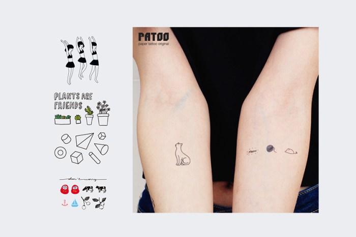 最合時令的夏日配飾:這幾個品牌的紋身貼紙如此可愛,誰還會說過時?!