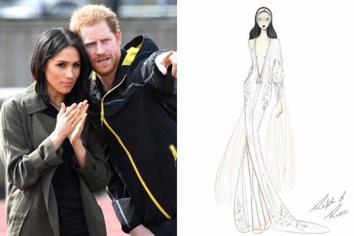 證據確鑿?傳 Meghan Markle 世紀婚紗將由 Ralph & Russo 主理!