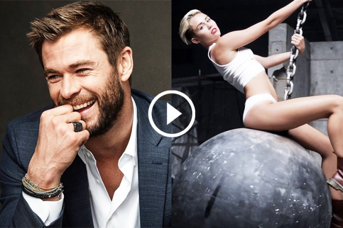 教人如何不愛他?「雷神」Chris Hemsworth 與可愛子女大跳《Wrecking Ball》!