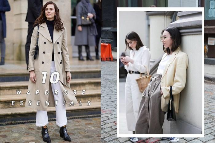 #POPBEE 專題:由 20 歲去到 50 歲,每個女人衣櫃裡該有的 10 件基本時尚單品
