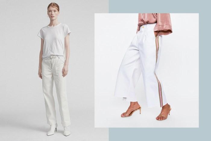 沒白色牛仔褲還稱得上夏天?10+ 款各價位的推薦清單,絕對讓你心動!