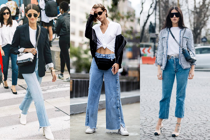 white tee denim jeans summer styling tips street style