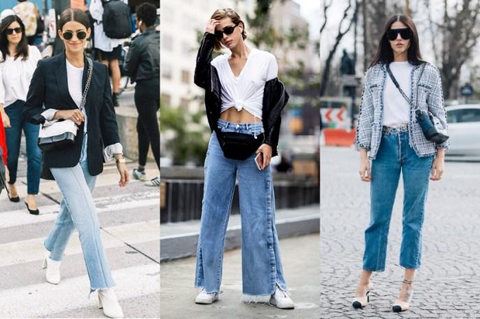 誰說「白 Tee +牛仔褲」沒有配搭技巧可言?時尚達人是這樣做!