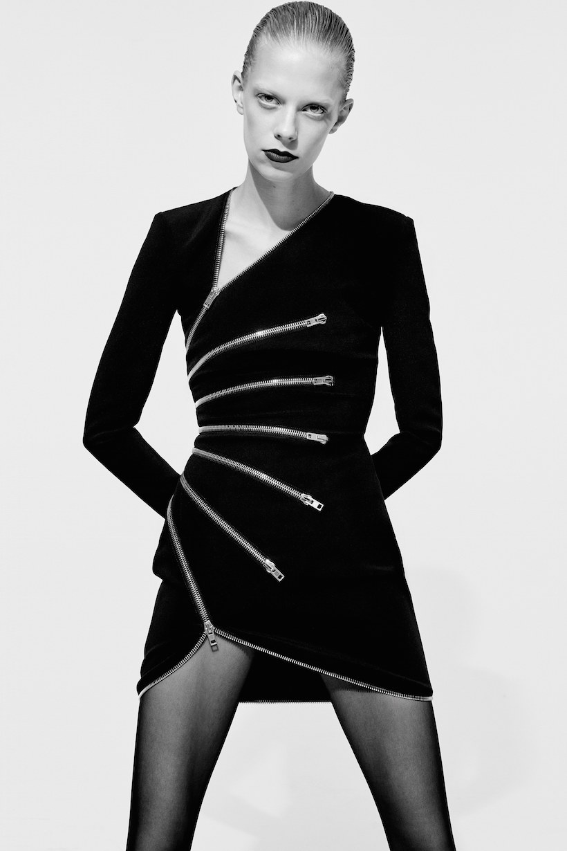 Alexander Wang pre fall collection black and white lookbook