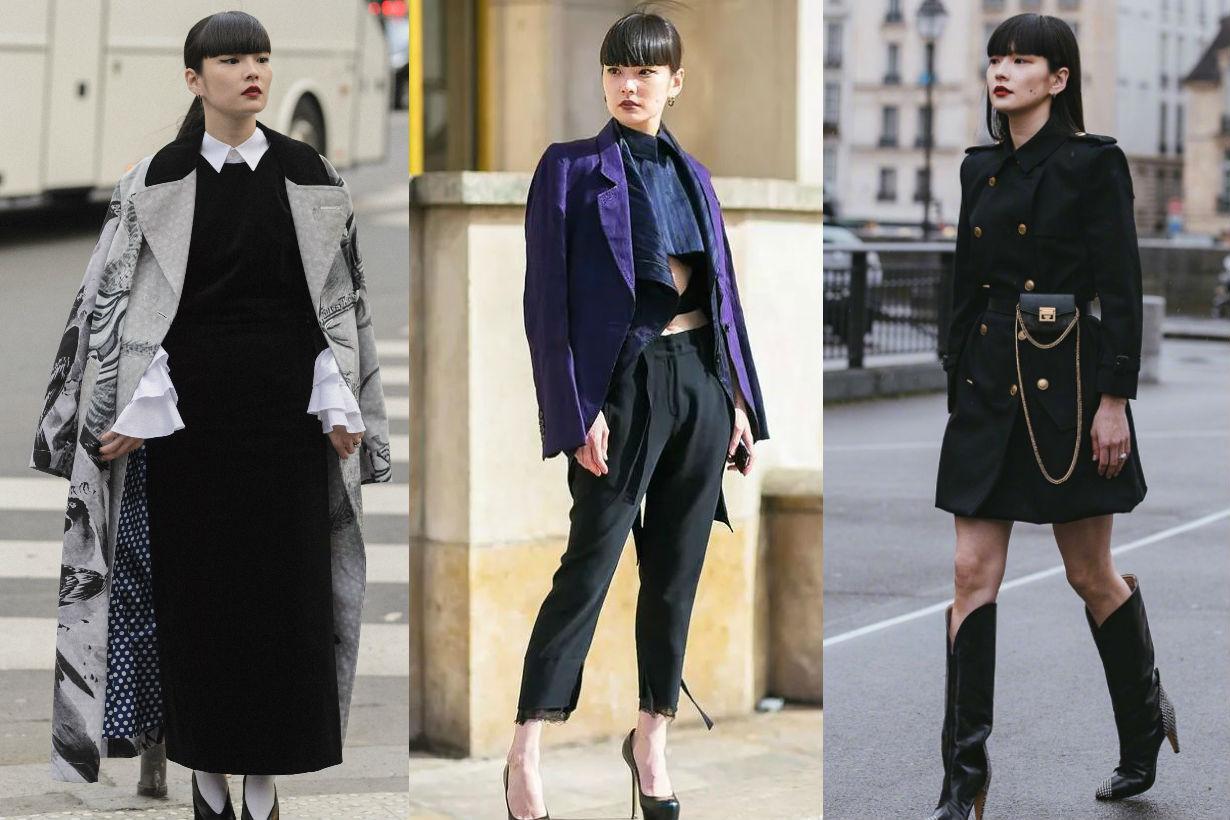 Kozue Akimoto 秋元梢 fashion week outfit tips