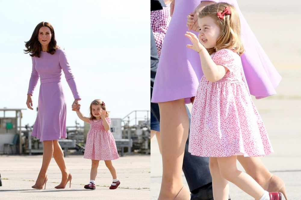 princess charlotte royal wave manner throwback adorable