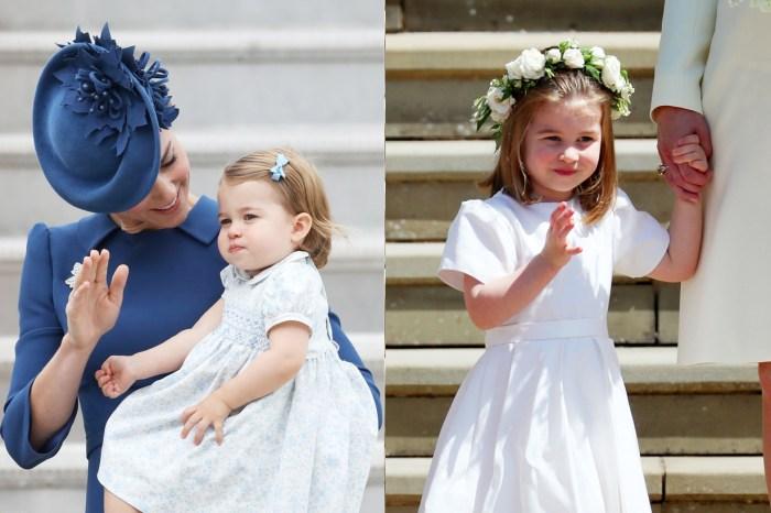 從害羞到樂開懷,回顧夏洛特小公主 10 次行皇室揮手禮的畫面!