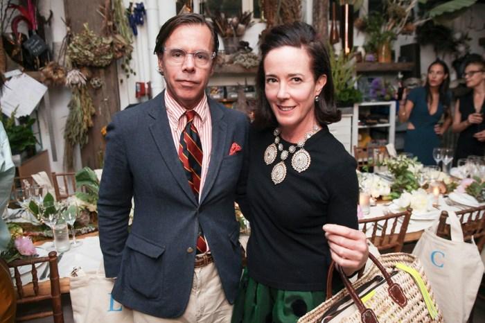 Kate Spade 丈夫首度開腔,證亡妻飽受抑鬱之苦並否認婚姻亮紅燈