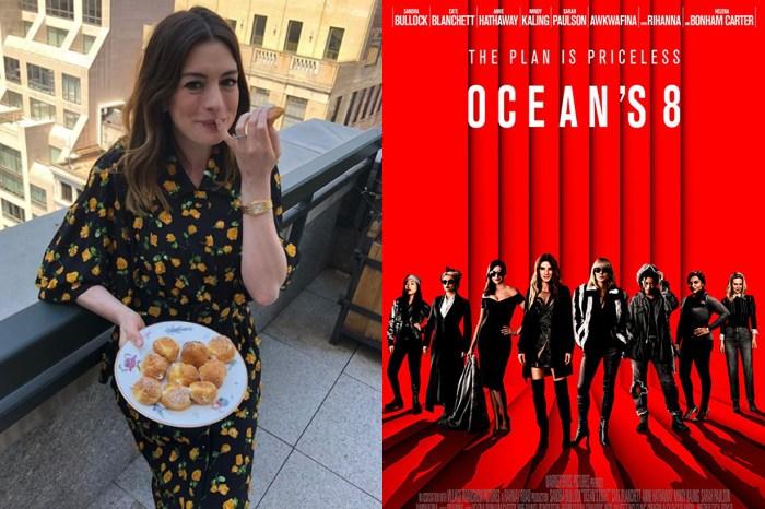 產後重拾自信的 Anne Hathaway,有賴《Ocean's 8》一眾女星的一席話!