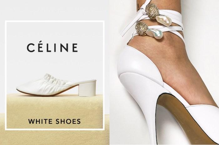 告別之作:以一系列極簡白鞋,為 Phoebe Philo 的 Céline 式簡約美學畫上完滿句號