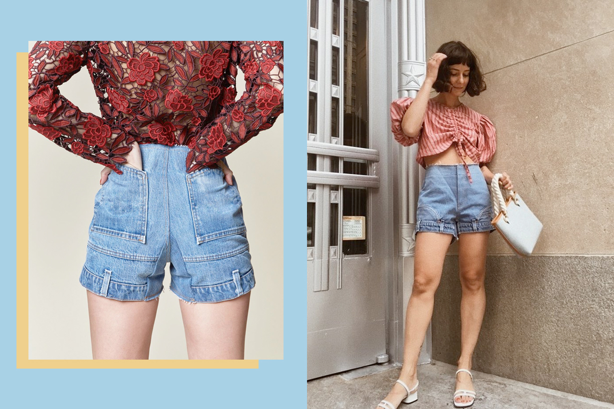 cie upside down jeans shorts summer trends confused